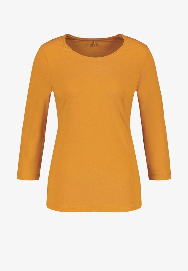 Long sleeved top - light honey