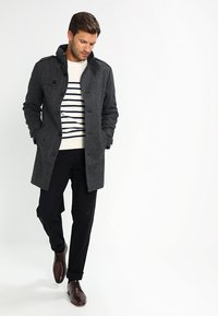 Pier One - Trenchcoat - salt and pepper - 1