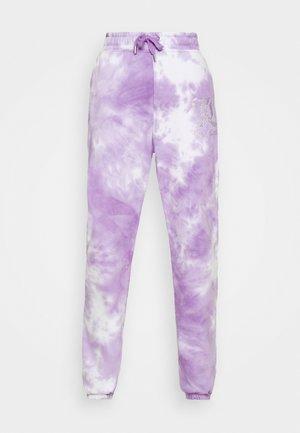 SOVEREIGN - Tracksuit bottoms - purple sea