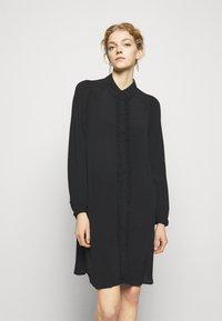 Bruuns Bazaar - LILLI MINDY DRESS - Shirt dress - black - 0