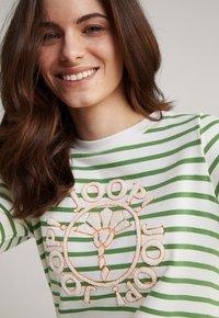 JOOP! - Jersey dress - grün weiß gestreift - 5