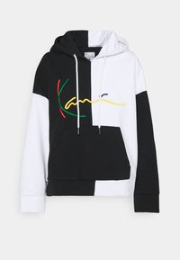 Karl Kani - SIGNATURE BLOCK HOODIE - Sweatshirt - black - 4