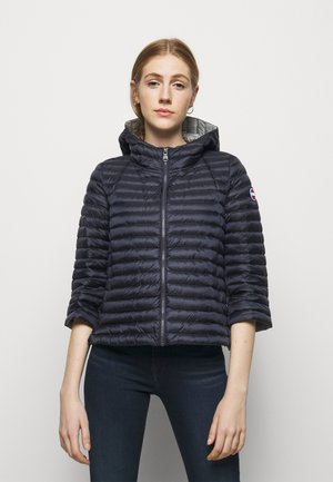 LADIES JACKET - Kurtka puchowa - navy blue/light steel