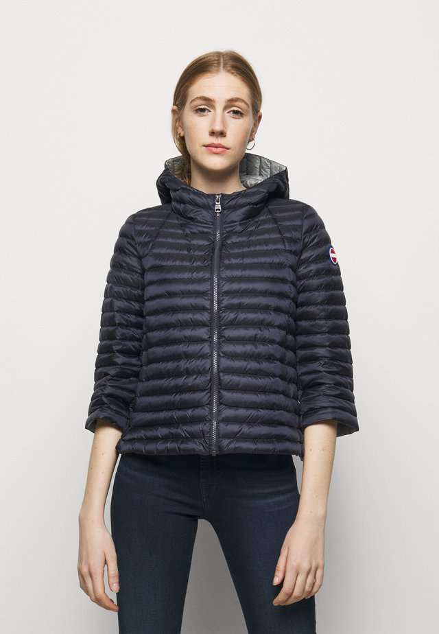 LADIES JACKET - Gewatteerde jas - navy blue/light steel