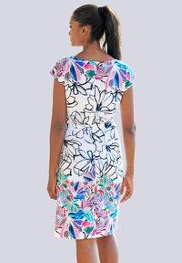 Alba Moda - Shift dress - weiss-bunt - 0