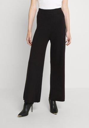 ONLNEW DALLAS PANTS - Trousers - black