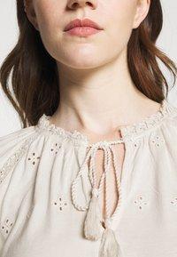 Lauren Ralph Lauren - UPTOWN - Long sleeved top - mascarpone cream - 5