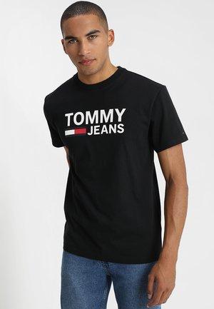 CLASSICS LOGO TEE - T-shirt con stampa - black