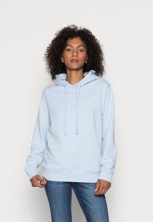 HILFIGER HOODIE - Ikdienas džemperis - breezy blue