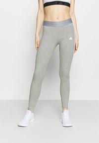 adidas Performance - Leggings - mottled grey - 0