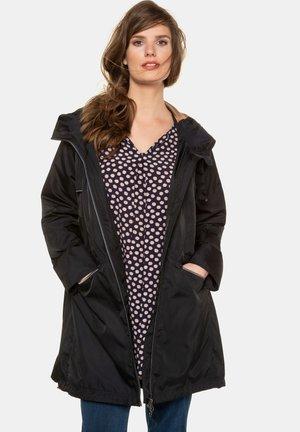 Outdoor jacket - grauschwarz