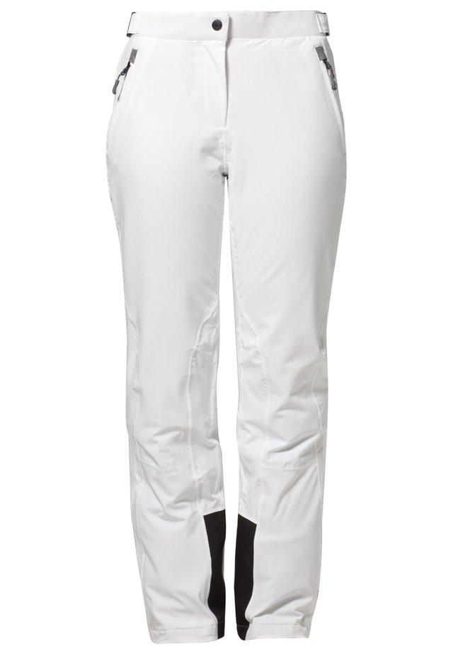 WOMAN PANT - Spodnie narciarskie - bianco