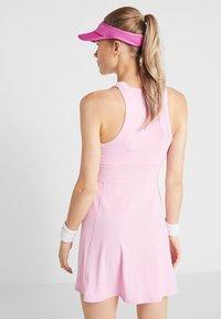 Nike Performance - DRY DRESS - Sports dress - pink rise/white - 2