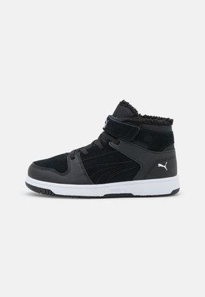 REBOUND LAYUP  - Sneakersy wysokie - black/white