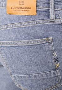 Scotch & Soda - POP OF SMOKE - Slim fit jeans - blue denim - 4