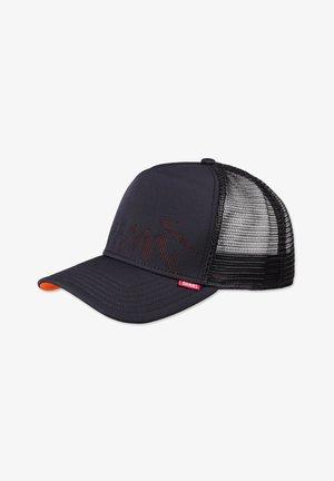 TRUCKER  - Cap - black/orange