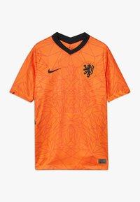 Nike Performance - NIEDERLANDE KNVB Y NK BRT STAD SS HM - Oblečení národního týmu - safety orange/black - 0