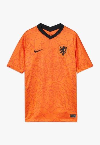 NIEDERLANDE KNVB Y NK BRT STAD SS HM - National team wear - safety orange/black