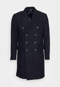 LONG PEA COAT - Klassinen takki - dark blue