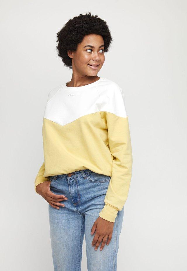 MAZINE MINA - Sweatshirt - offwhite/vanilla