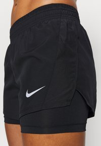 Nike Performance - 10K SHORT - Sports shorts - black/black/black/wolf grey - 4