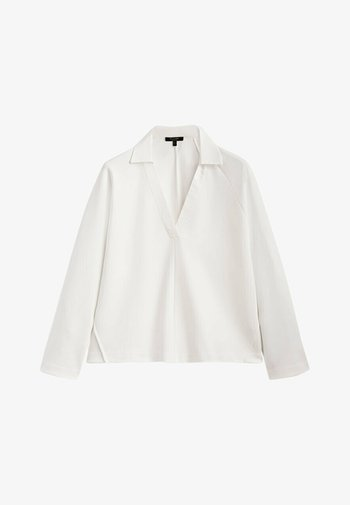 LANGARM - Polo shirt - beige