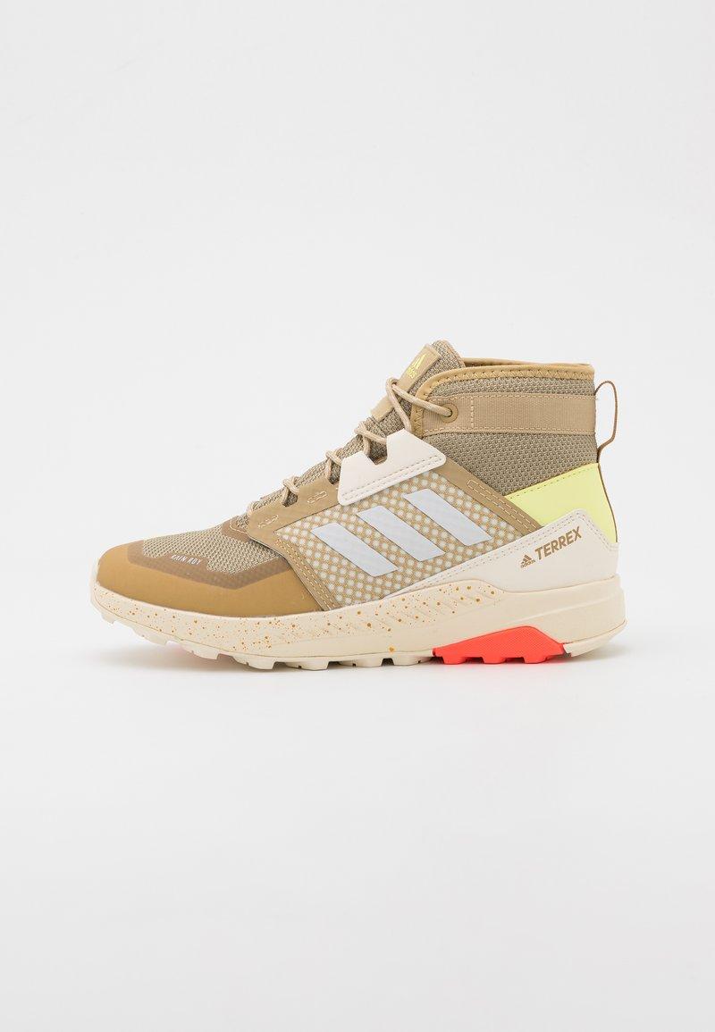 adidas Performance - TERREX TRAILMAKER - Hiking shoes - beige tone/crystal white/white