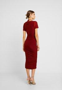 Club L London - Day dress - rust - 2