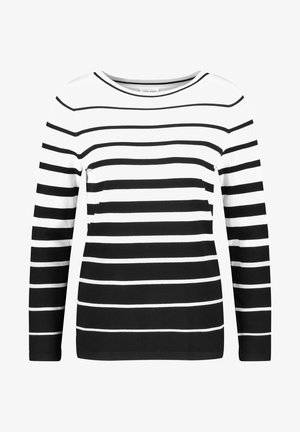 Jumper - black, white