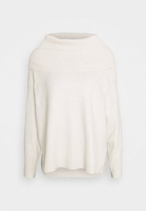 VMDOFFY COWLNECK - Jumper - birch/melange