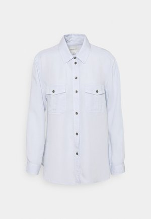 CORE MILITARY - Button-down blouse - ice blue