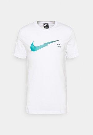 ZIGZAG TEE - T-shirts print - white