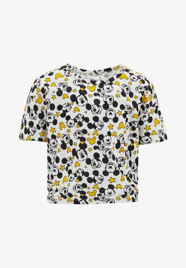 DISNEY - T-shirt imprimé - offwhite