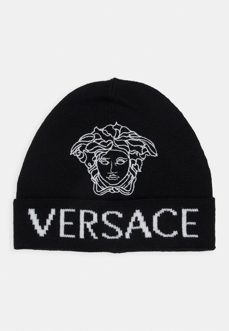 Versace - CAPPELLO MAGLIA JUNIOR UNISEX - Beanie - nero/bianco