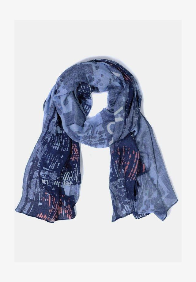 Sjaal - blue denim