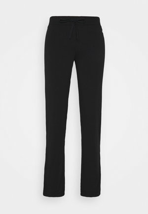 DRAWSTRING PANTS - Tracksuit bottoms - black