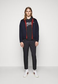 Bally - Cardigan - ink/red - 1