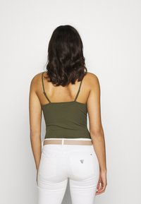 Even&Odd - 2 PACK - Top - black/khaki - 3