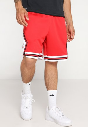 CHICAGO BULLS NBA SWINGMAN SHORT ROAD - kurze Sporthose - university red/white