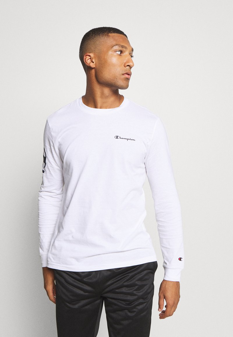 Champion - LEGACY LONG SLEEVE - Maglietta a manica lunga - white