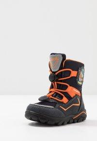 Lurchi - KERO SYMPATEX - Winter boots - atlantic/orange - 2