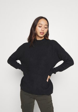 VMLEFILE HIGHNECK - Jersey de punto - black