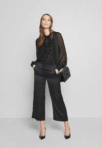 KARL LAGERFELD - Button-down blouse - black - 1