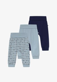 Jacky Baby - PANDA LOVE 3 PACK - Broek - blue - 4