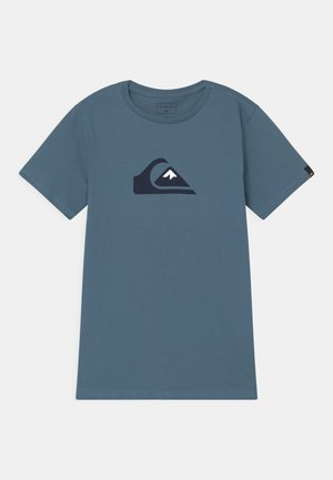 LOGO  - Print T-shirt - captains blue