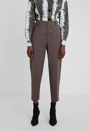 KARLIE TROUSER - Spodnie materiałowe - taupe