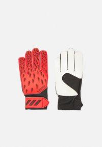 adidas Performance - UNISEX - Goalkeeping gloves - red/solar red/black - 0