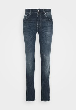 GROVER - Jean droit - dark-blue denim