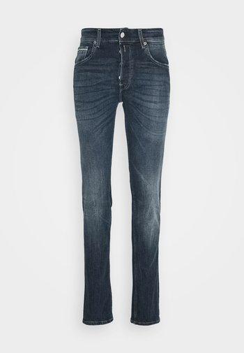 GROVER - Straight leg jeans - dark-blue denim