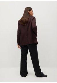 Violeta by Mango - WINDOW7 - Blazer - burgundy - 2